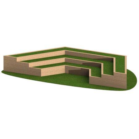 AMPHITHEATRE 3 TIER STRAIGHT product image 1