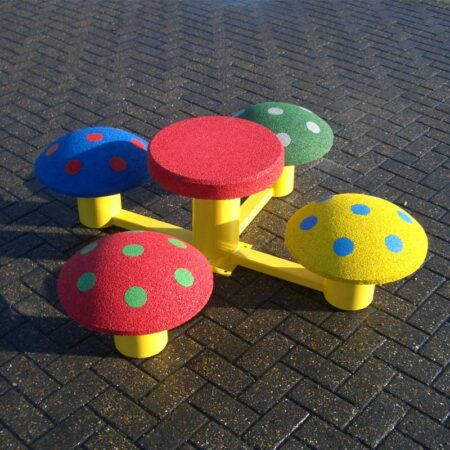 4 Mushroom Seat with Table product image 1