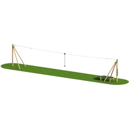 TIMBER AERIAL RUNWAY 20M ONE WAY product image 1