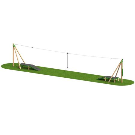 TIMBER AERIAL RUNWAY 20M TWO WAY product image 1
