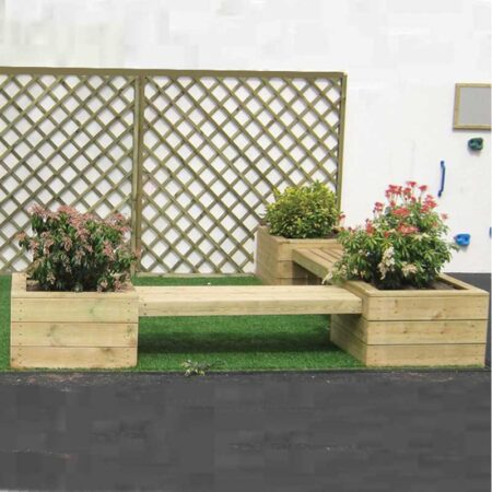 Triple Planter Seating product image 1