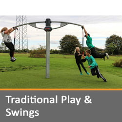 Traditional Play and Swings