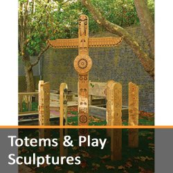 Totems and Play Sculptures