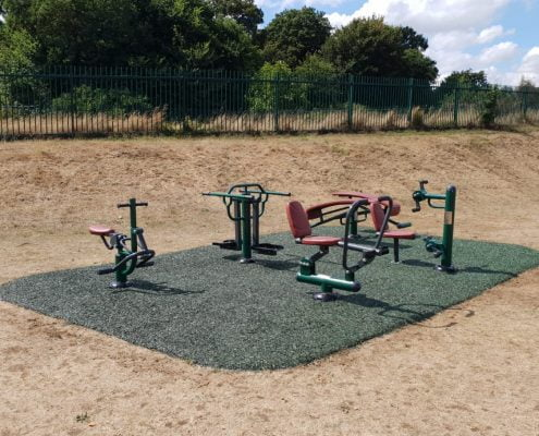 St James The Great Academy Outdoor Gym Area